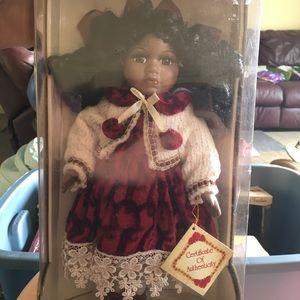 Collectors Addition Porcelain Doll